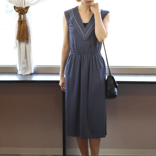 FRENCH VINTAGE ONEPIECE MADE IN FRANCE/フランス古着ワンピース