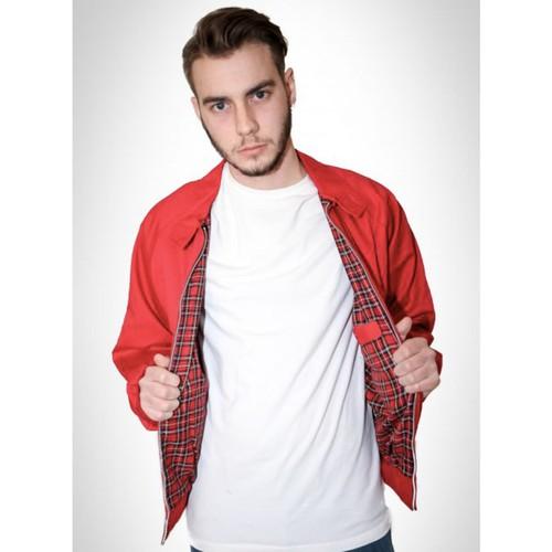 【COMBAT】 英国製 ハリントンジャケット 〈Red〉