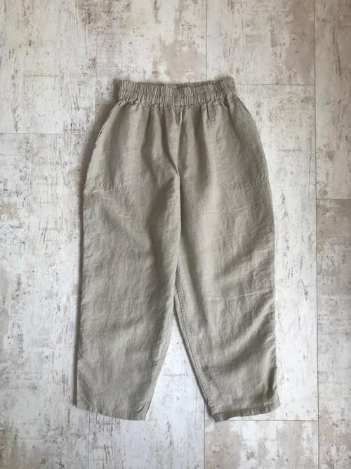 Linen natural farmers pants
