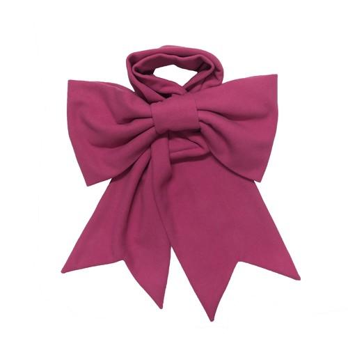 リボンマフラー ピンク