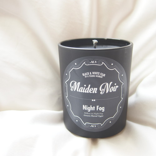 Maiden Noir Candle // Night Fog (Green Floral) M