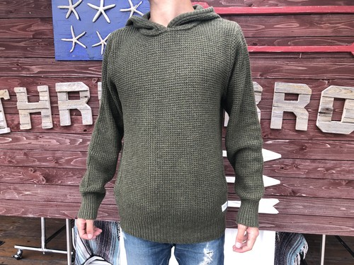 【BANKS】 ACROSS KNIT (utility green)