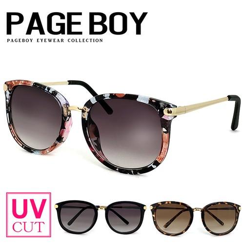 サングラス py2640 ウェリントン型  UVカット 紫外線対策 ページボーイ レディース 女性用 メンズ 男性用