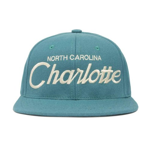 "HOOD®︎ ""NORTH CAROLINA Charlotte"" CAP NC BLUE"