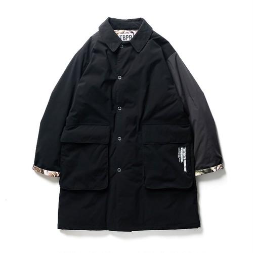 TIGHTBOOTH NEIGHBORHOOD  ISLEY PUFFY C-COAT  BLACK L
