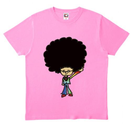 【買って応援A】源田イラストTシャツ ピンク