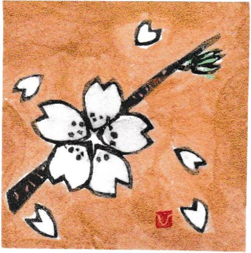 小版画/4月 桜
