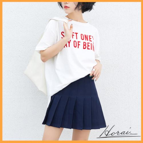 スカート ミニ丈 ペチコート付き プリーツスカート スクールガール風 インナー付き 無地 カラバリ チアガール 衣装 コスプレ