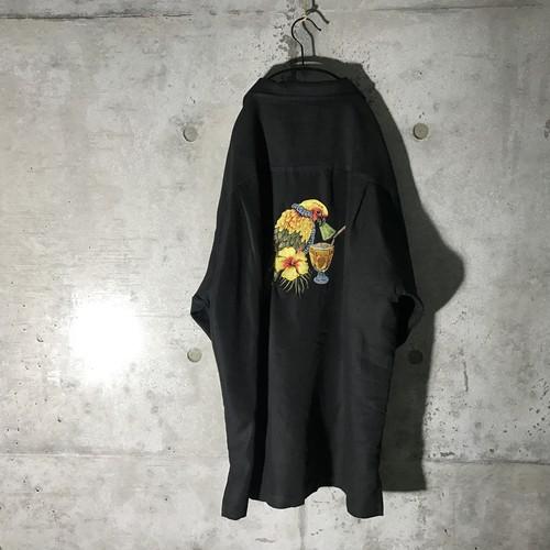 [used] back bird pointed shirt