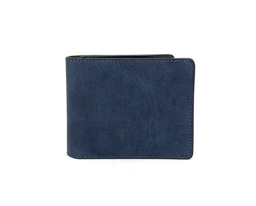 RE.ACT Solid Indigo Billfold Wallet