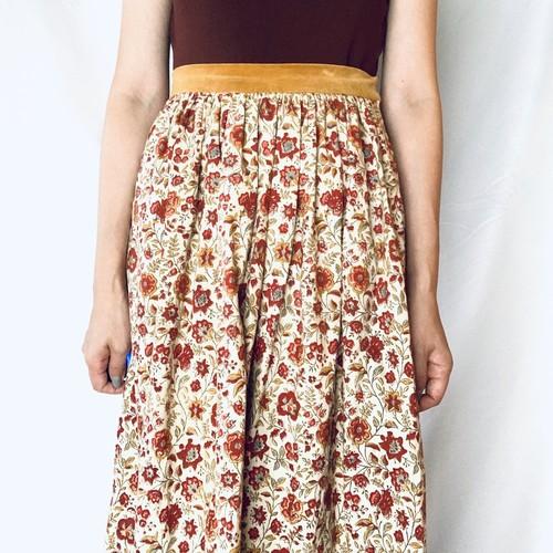 Vintage Long Skirt _01(ヴィンテージ インドバティック マキシロングスカート)