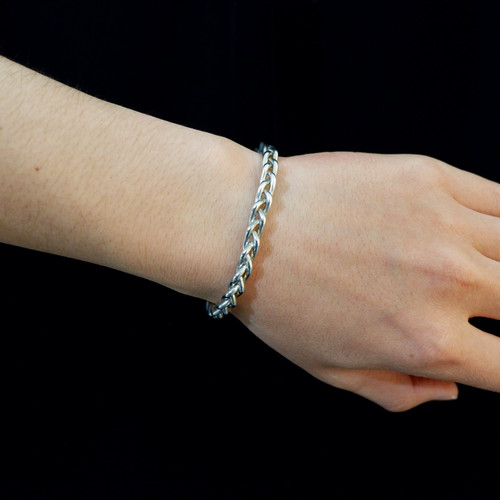 【UMB-003】Braid Tin Bangle