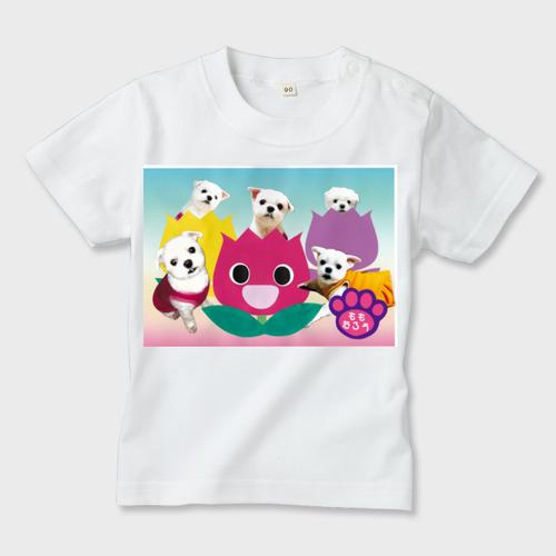 ももちゃんの世界005 キッズTシャツ ※ガーメントインクジェット印刷