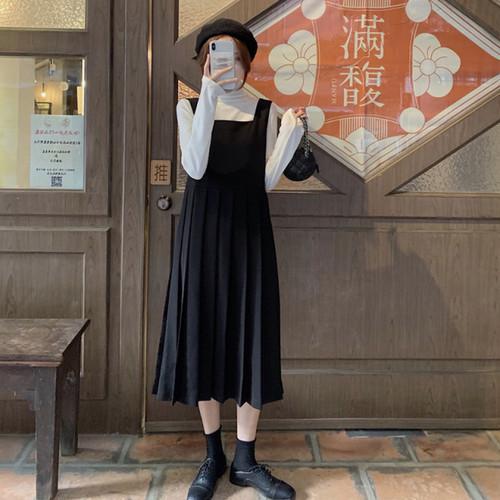 プリーツジャンパースカート1011-191124021