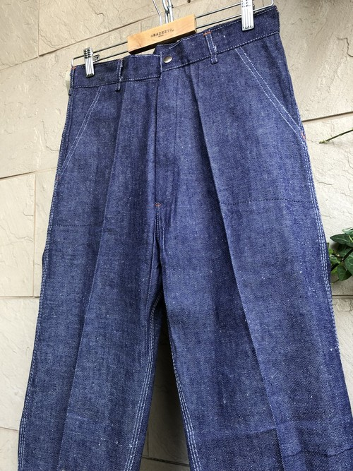 Deadstock Old British denim trousers 1