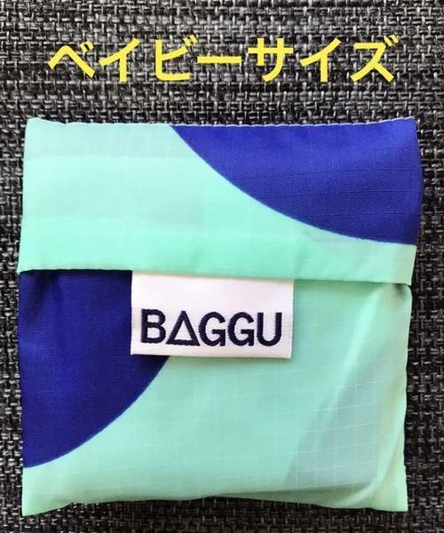 BAGGU エコバッグ 水玉 ドット ベイビーサイズ