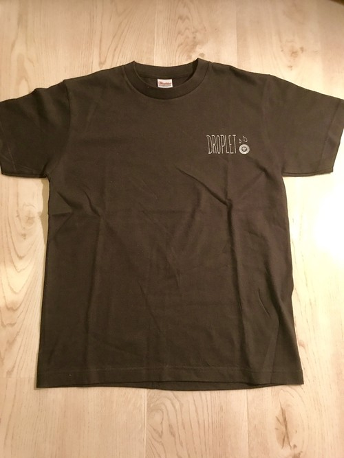 droplet T-Shirts -black-