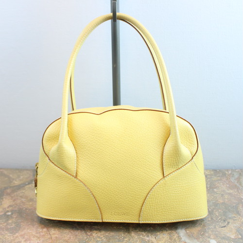 .LOEWE LEATHER HAND BAG MADE IN ITALY/ロエベレザーハンドバッグ 2000000033808