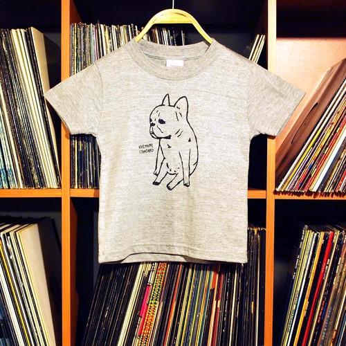 ANEMONE Tシャツ(コドモ杢グレー)