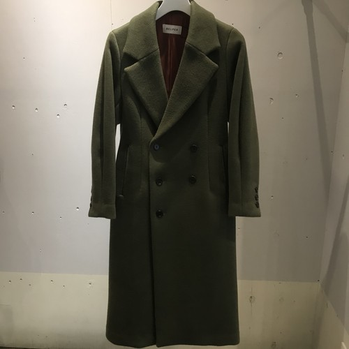 SHAPED WOOL COAT