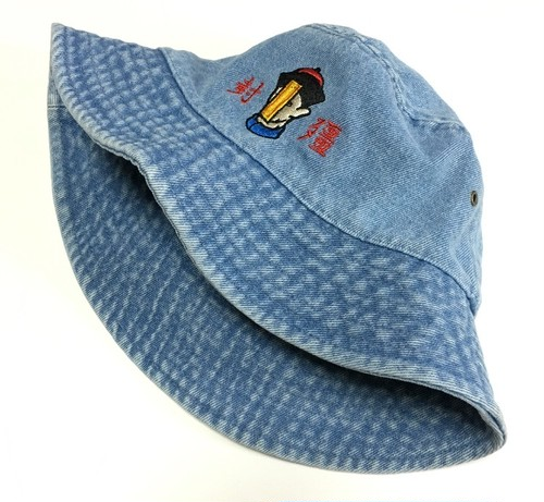 殭屍 HAT (LIGHT BLUE DENIM)
