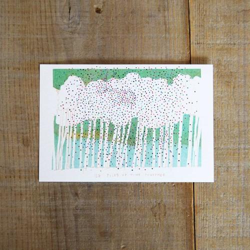 ポストカード〈木々〉