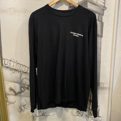 long sleeve print T-shirt