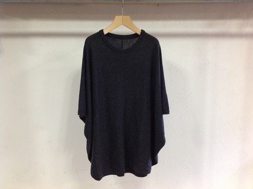 "crepucule ""new knit-T charcoal"""