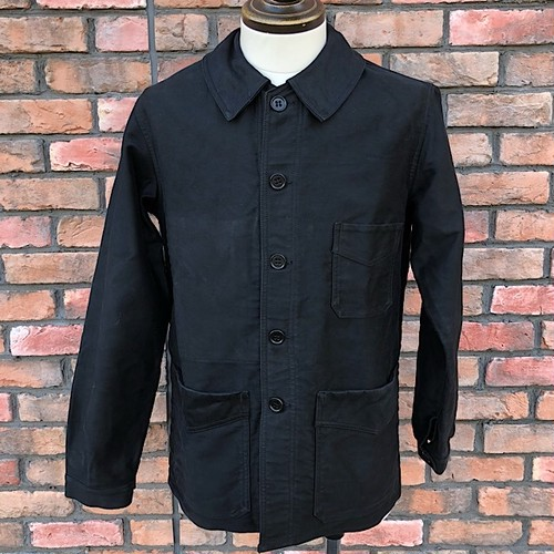 1950s French Work Jacket Le Mont St.Michel Black