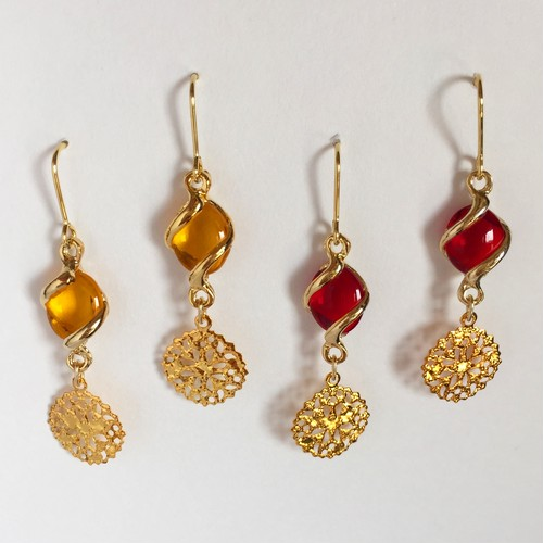 glossy pierce 〜RED or YELLOW〜