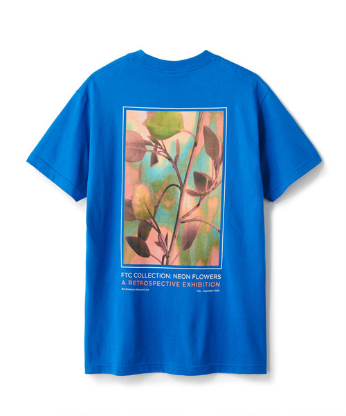 FTC / EXHIBITION TEE -ROYAL-