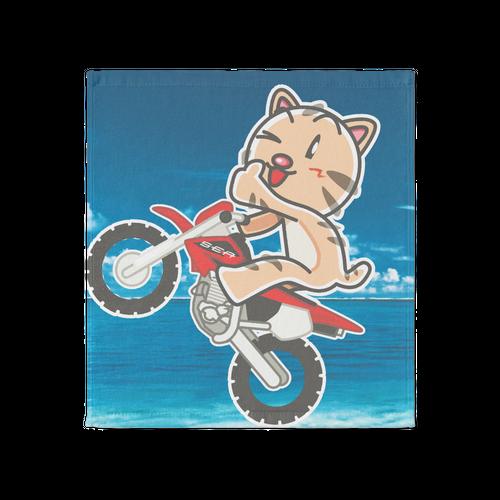 <タオル 大>バイクみーちゃん