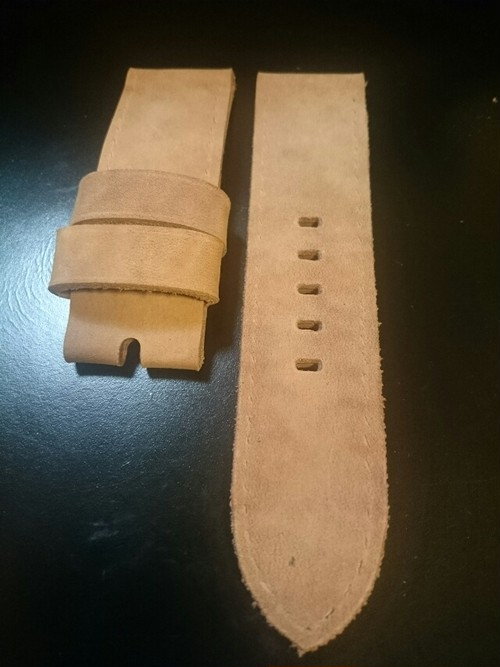 Rita's@strap  ヌバックLeather 26mm natural(62)