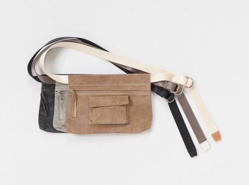 "Hender scheme "" waist belt bag wide """