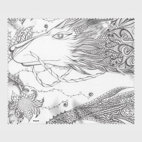 めがね拭き:006(伯(はく))【kazue.M】