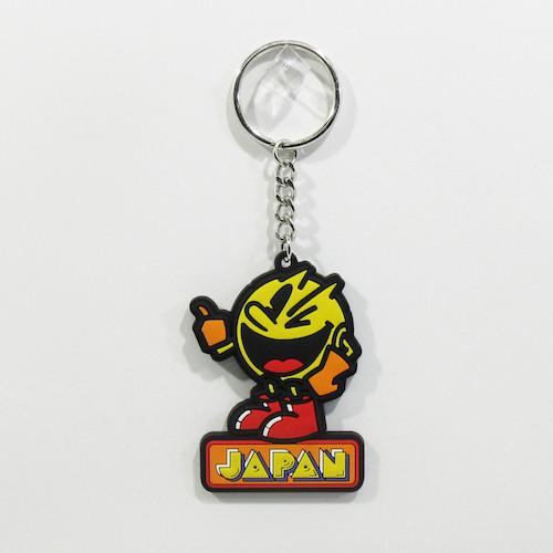 JAPAN PAC-MAN ラバーキーチェーン
