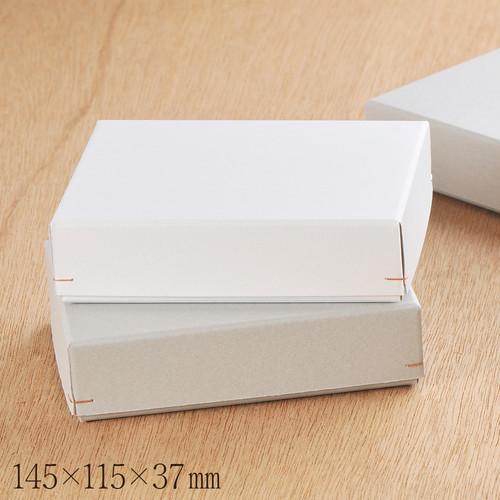 ギフトボックス 二つ折財布用 角留め箱 145×115×37mm 1個 B077.B078
