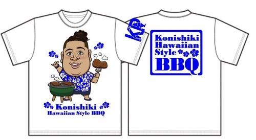 『BBQ Tシャツ』☆ブルー☆