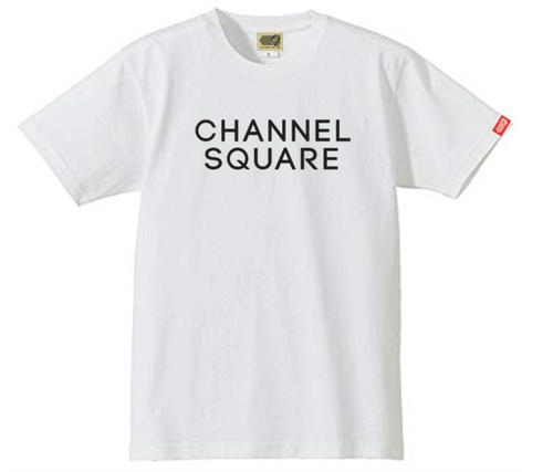 ロゴTシャツ WHITE×BLACK