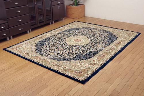 トルコ製 ウィルトン織り カーペット 200x250cm 約3.5畳 ベルミラ RUG