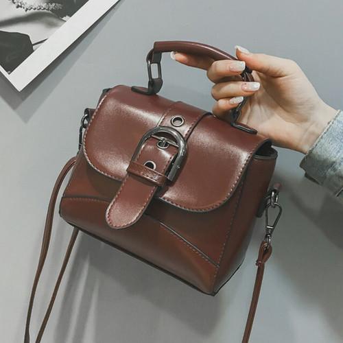 【バッグ】無地シンプルミニ多機能優しい色合いファッションバッグ26471260