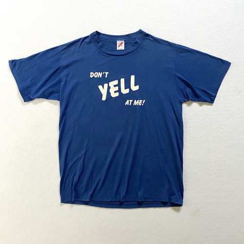 80's jerzees   DON'T YELL AT ME tee (V0796M)