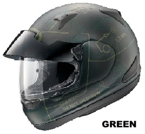 ARAI ASTRO PRO SHADE COMMAND green