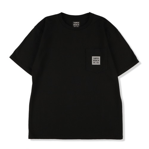 MINI LOGO S/S POCKET TEE(BLACK)[THMINI-P1]