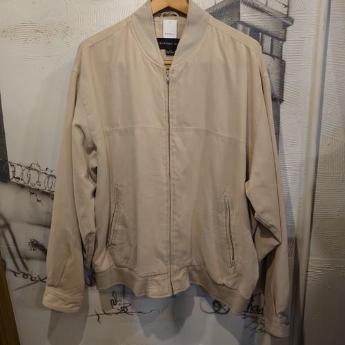 fake suede zip up jacket