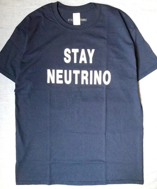 STAY NEUTRINO LOGO Tシャツ