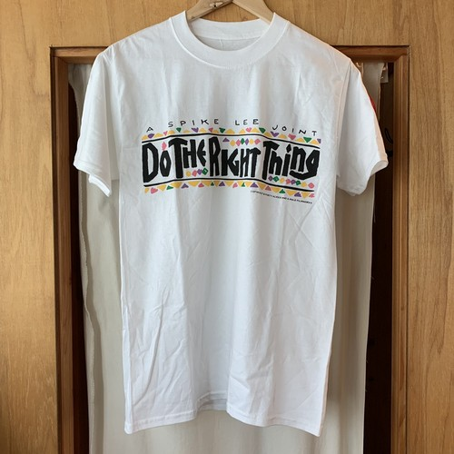 直筆サイン★40 Acres Do The Right Thing Tee White 2019
