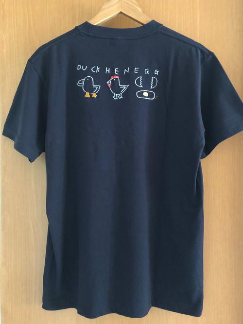 オリジナルTシャツ 紺色 【とり】