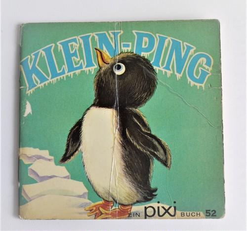 ヴィンテージミニ絵本 ペンギンぼうや ピクシー絵本 手のひら絵本