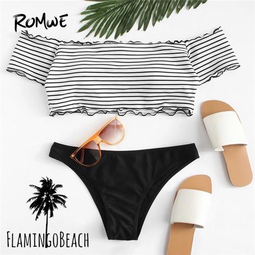 【FlamingoBeach】offshoulder bikini ビキニ